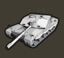 Challenger 2 Battle Tank by RetroJunction