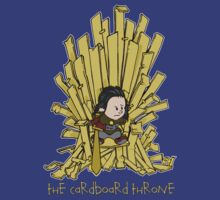 The Cardboard Throne by barry neeson
