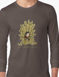 The Cardboard Throne Long Sleeve T-Shirt