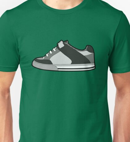 Black & White Sneaker Unisex T-Shirt