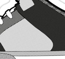 Black & White Sneaker Sticker