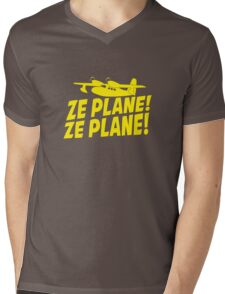 Ze Plane, Ze Plane Mens V-Neck T-Shirt