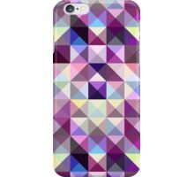 Interesting texture of colored triangles iPhone Case/Skin