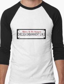 Where it all happens Men's Baseball ¾ T-Shirt