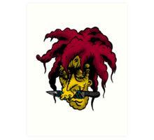 Shrunken Sideshow Bob Art Print