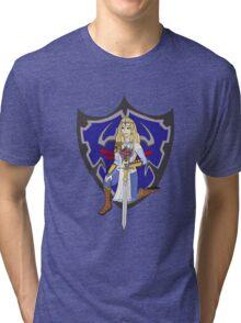 Zelda in armour Tri-blend T-Shirt