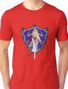 Zelda in armour Unisex T-Shirt