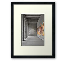 The greatness of the past ... Framed Print