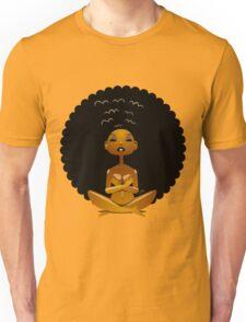 Afro Girl Spirit Unisex T-Shirt