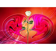 A groovy love © Photographic Print