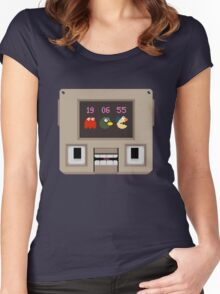 Hey! Look! A pixel! Women's Fitted Scoop T-Shirt