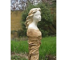Gwen - Fabric-wrapped Garden Sculpture Photographic Print