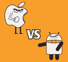 APPLE VS ANDROID by DTRIKSTER