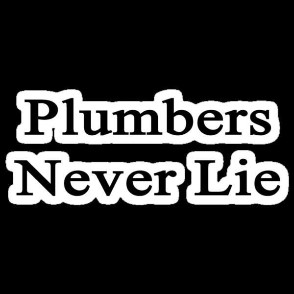 Plumbers Never Lie  by supernova23