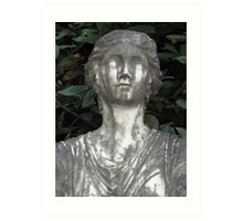 Tears of a Statue Art Print