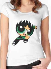 RowdyRuff Boys - Butch Women's Fitted Scoop T-Shirt