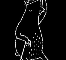 Dapper Bear by Sophie Corrigan