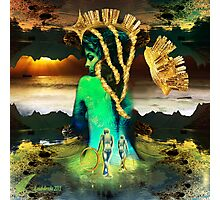 Fractal Godess Photographic Print