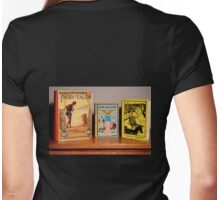 Vintage Children's Books Womens Fitted T-Shirt