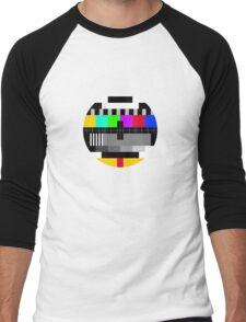 tv test Men's Baseball ¾ T-Shirt