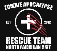 Zombie Apocalypse Rescue Team by KDGrafx