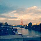 Paris - View of Eiffel Tower by Sarcasmic