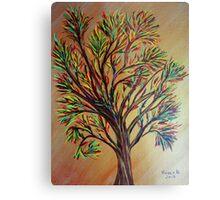 Tree/semi abstract Metal Print