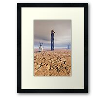 Metaphysics of oblivion Framed Print
