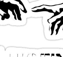 Messy Fingers Sticker