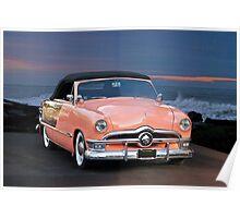 1950 Ford Custom Convertible II Poster