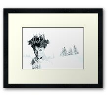 Snow Queen of Narnia Framed Print
