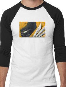 Wolverine Adamantium Rage Men's Baseball ¾ T-Shirt