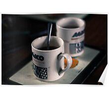 Mugs of Tea Poster