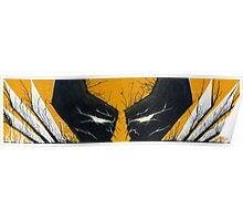 Wolverine Adamantium Rage Poster