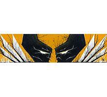 Wolverine Adamantium Rage Photographic Print