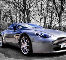 Aston martin V8 Vantage by Ian Hufton