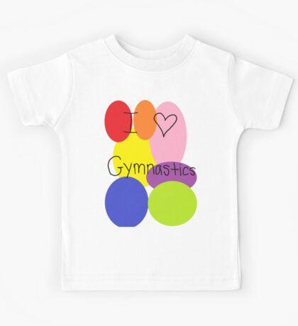 I love gymnastics Kids Tee