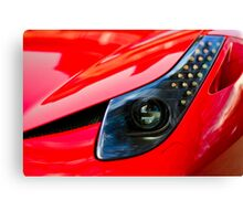 Ferrari 458 Abstract Wing / Light Canvas Print