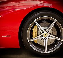 Ferrari 458 Front Wheel by Mark Battista