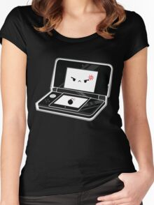 Cute Black 3DS Women's Fitted Scoop T-Shirt