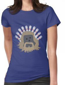 The Big LeBOWLski Womens Fitted T-Shirt