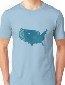 AmeriWhale The Beautiful Unisex T-Shirt