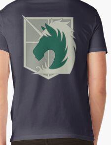 Military Police Crest Mens V-Neck T-Shirt