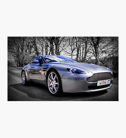 Aston martin V8 Vantage Photographic Print