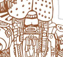 Mighty Walrus Sticker