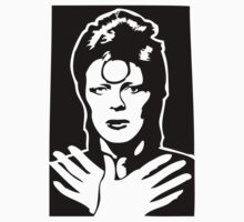 David Bowie Ziggy Stardust by 53V3NH
