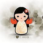 Kokeshi Cancer by arlain