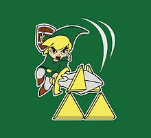 Tri-force Slash! by Jonathan  Ladd