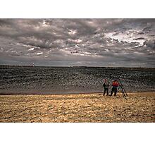 Sea Anglers Photographic Print