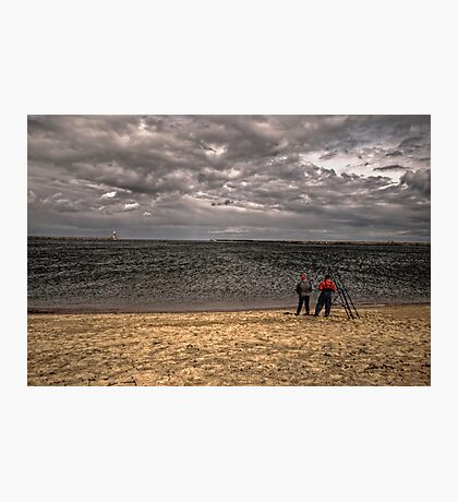 Sea Anglers Photographic Print